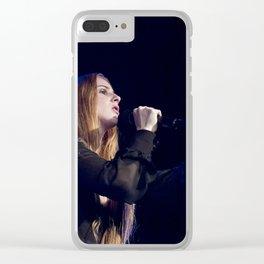 Vera Blue_06 Clear iPhone Case