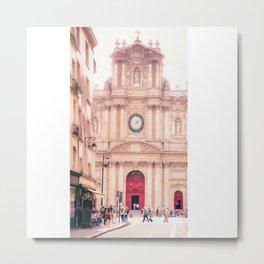 Saint-Paul Saint-Louis Church - Le Marais, Paris Metal Print