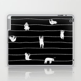 Sloth Stripe Laptop & iPad Skin