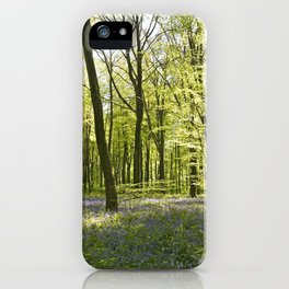 Springtime at Itchen Wood iPhone Case