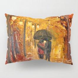 Les amoureux sous la pluie Pillow Sham