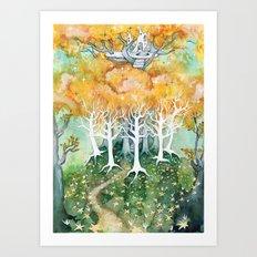 Lothlórien Art Print