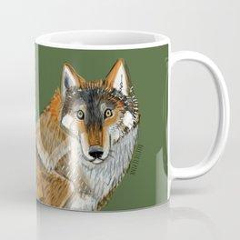 Wolves of the World: Carpathian wolf (Canis lupus lupus) (c) 2017 Coffee Mug