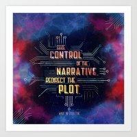Want - Seize Control Art Print