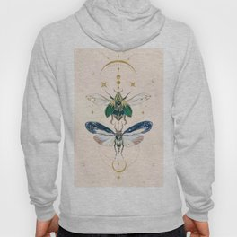 Moon insects Hoody