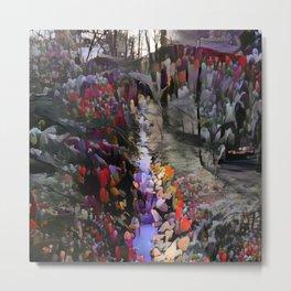 Fulda Gap Flowers Metal Print