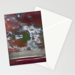 Pink Seas and Clouds Stationery Cards