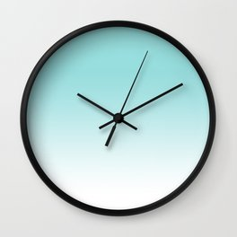 Limpet Shell Ombre Wall Clock