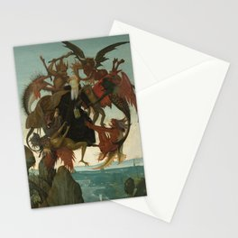 Michelangelo Buonarroti / The Torment of Saint Anthony / Stationery Cards