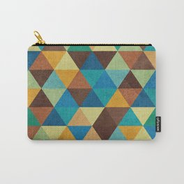 Triangles and Colors Carry-All Pouch