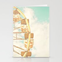 ferris wheel Stationery Cards featuring Ferris Wheel by Sweet Moments Captured
