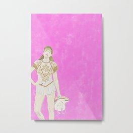 I, Tonya - Watercolor Metal Print