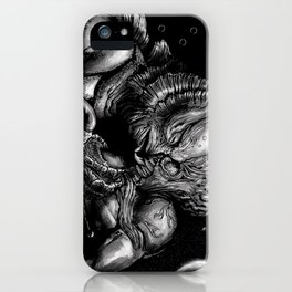 First base in Outer Space iPhone Case