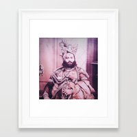 prince Framed Art Prints featuring prince by pepite