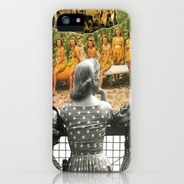 I Don't Know About You, But I Feel Like We're Always Being Watched iPhone Case
