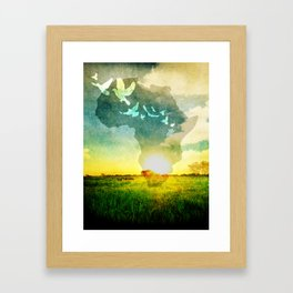 Out of Africa Framed Art Print