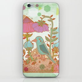 The Blue Bird iPhone Skin