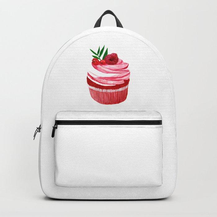 Red velvet cupcake Backpack