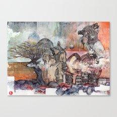The Coalition Canvas Print