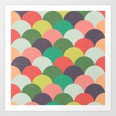 Kids Pattern Art Print