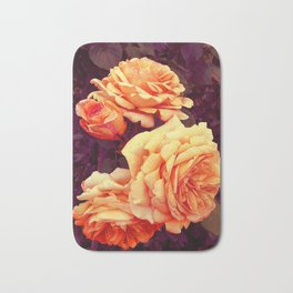 Dzeltenā roze Bath Mat