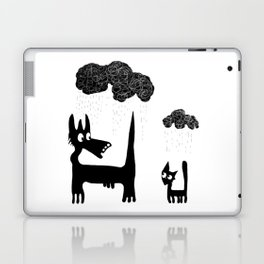 It's Raining Cats and Dogs Laptop & iPad Skin