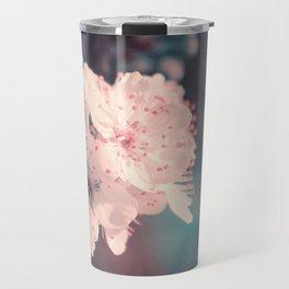 Delicate Strength (Spring White Cherry Blossom) Travel Mug