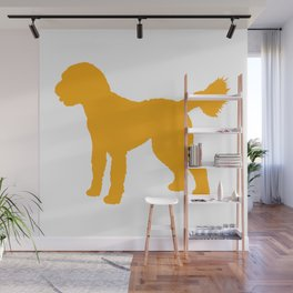 Goldendoodle Doodle Wall Mural
