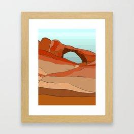 Moab Arches Framed Art Print