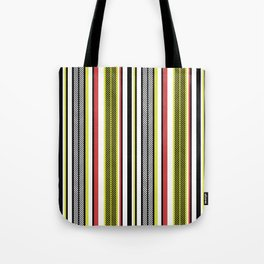 Aztec Fishbone Stripe Tote Bag