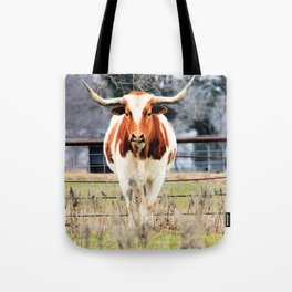 Texas Longhorn Morning Tote Bag