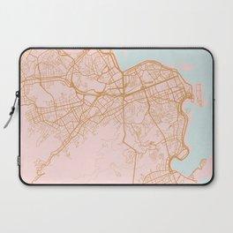 Rio de Janeiro map, Brazil Laptop Sleeve