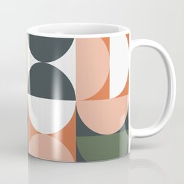 Mid Century Geometric 16 Coffee Mug