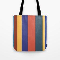 Color Band 70's - B - Stripe Tote Bag