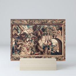 Triumph of Constantine over Maxentius at the Battle of the Milvian Bridge Mini Art Print