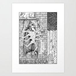 The Burglar Art Print