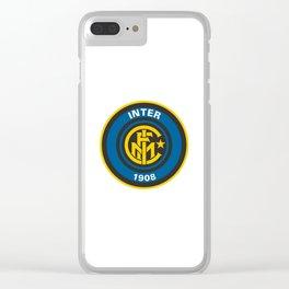 Inter Milan Logo Clear iPhone Case