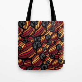 Tropical Cashew Apples Pattern Tote Bag