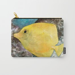 Hello Yellow! Carry-All Pouch
