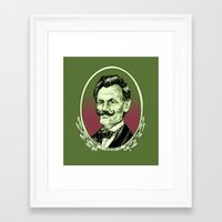 lincoln Framed Art Prints featuring Lincoln by Esteban Ruiz