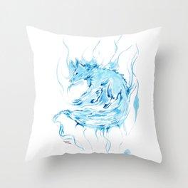 Patronus - Fox Throw Pillow