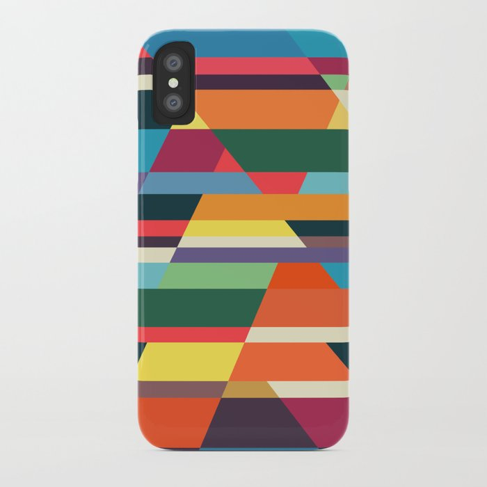 The hills run to infinity iPhone Case