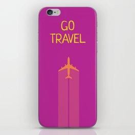GO TRAVEL iPhone Skin