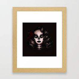 La Bella Muerta Framed Art Print