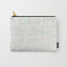 Beijing Grey Map Carry-All Pouch
