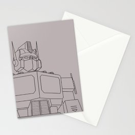 Optimus G1 clay Stationery Cards