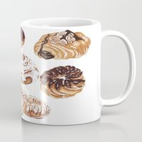 donuts Mugs featuring Donuts by heatherinasuitcase