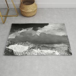 Clouds - White Pass, Kings River Canyon Rug