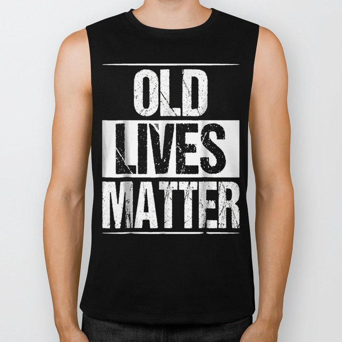 60th Birthday Gifts For Men Old Lives Matter Shirt 50th Dad Biker Tank