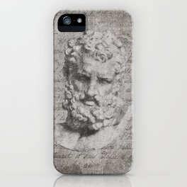 ANCIENT / Head of Herakles iPhone Case